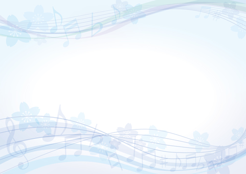 Sakura Music Blue
