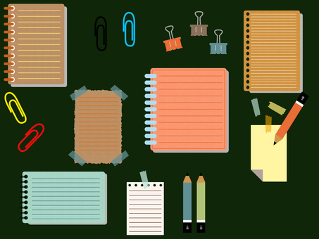Notes, notes and stationery