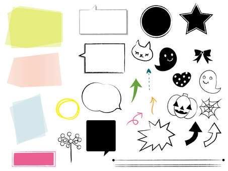 Material note Halloween