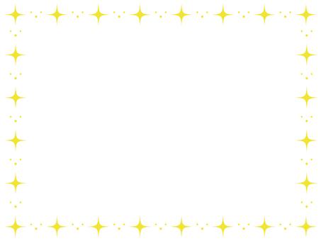 Glittering decorative frame 2