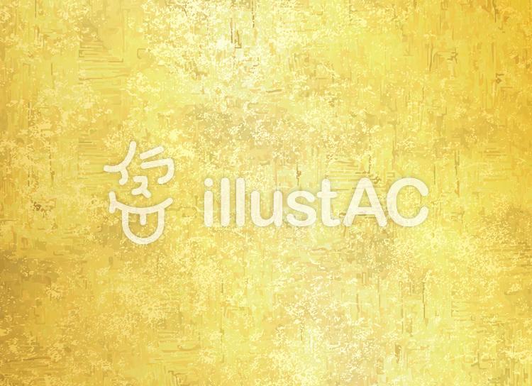 和紙和柄和風日本金色背景壁紙テクスチャーのイラスト