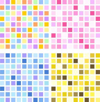 Mosaic tile pattern ai pattern swatch