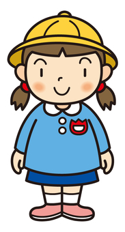 幼兒園的女孩