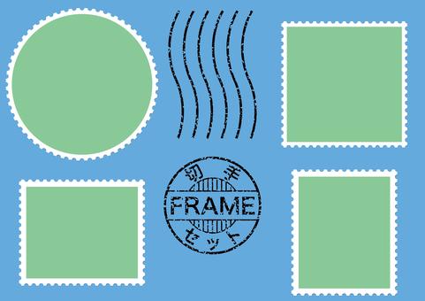 Stamp frame stamp