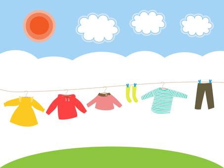 Laundry for children's clothes