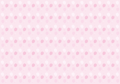 벽지 - 벚꽃 날리는 b