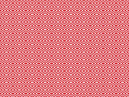 樣式(173)紅色菱形白色背景