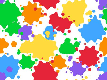 물보라 패턴 1 (화려한)