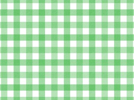 Gingham check (green · vertical)