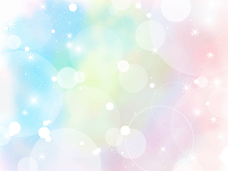 Soap bubble polka dot frame 3