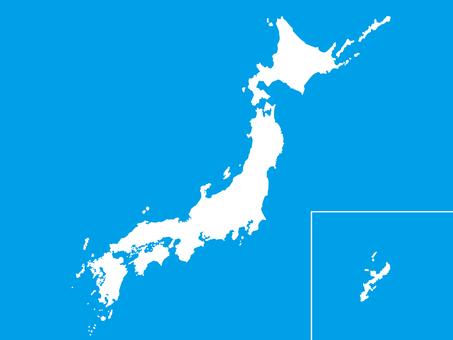 일본지도 3