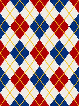 Wallpaper Argyle Vertical Loopable Red × Navy