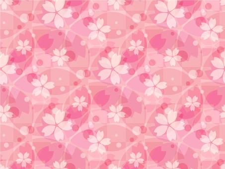 Cherry background 3_ pattern _ pink