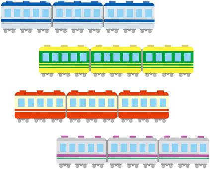 Deformed train