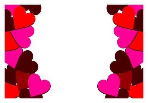 Lots of frames with hearts (2)