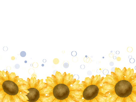 Sunflower and polka dots 02