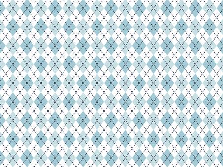 블루 체크 무늬 배경 2
