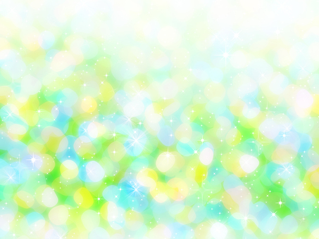 Water glitter background green