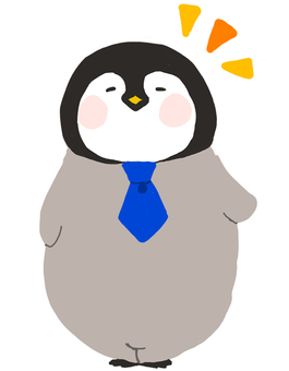 Penguin and tie