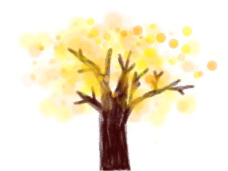Fantastic tree yellow
