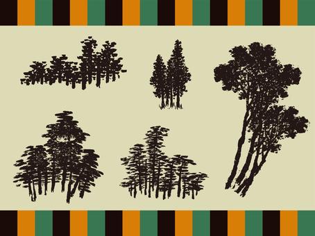 Ukiyo-e tree collection vol 1