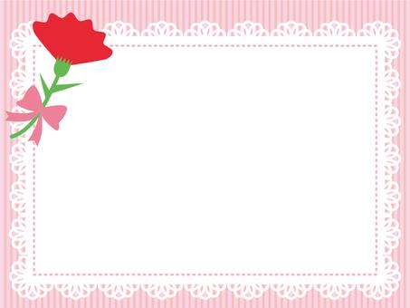 Carnation frame