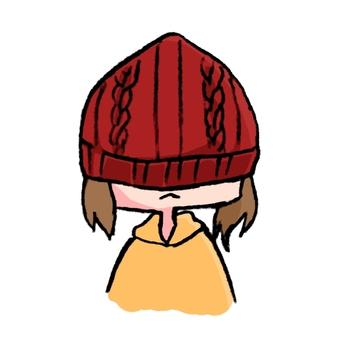 Wear a hat deeply
