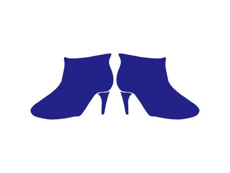Rain boots-2 deep blue