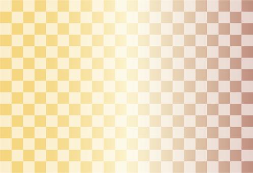 Yellow grid pattern