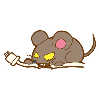 Mouse biting cable