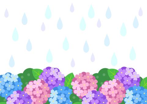 Rainy season image material 128