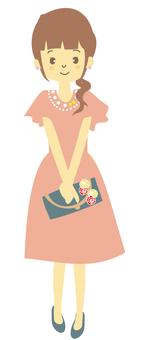 드레스 3 (정면)
