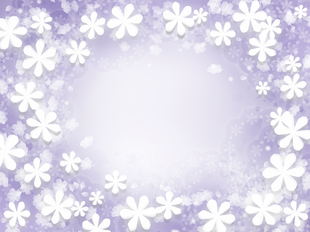 Purple background flower