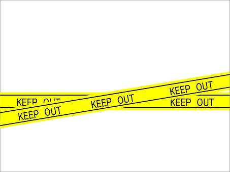 Off-limits tape