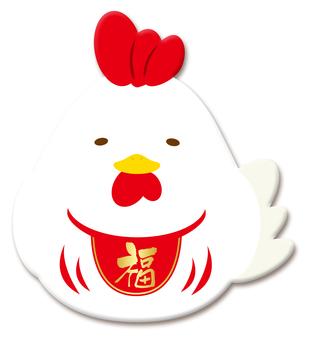 Chicken Daruma