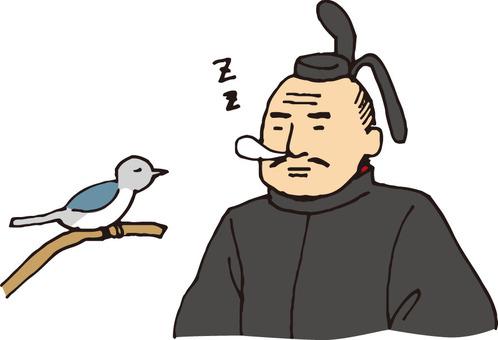 Warlords (Tokugawa Ieyasu and birds)