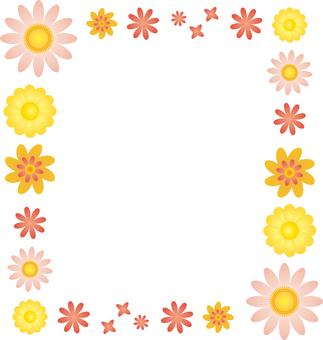 Flower 02 - frame square 01
