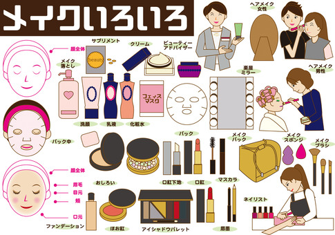 Beauty (Various makeup)