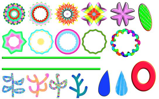 Colorful set 3