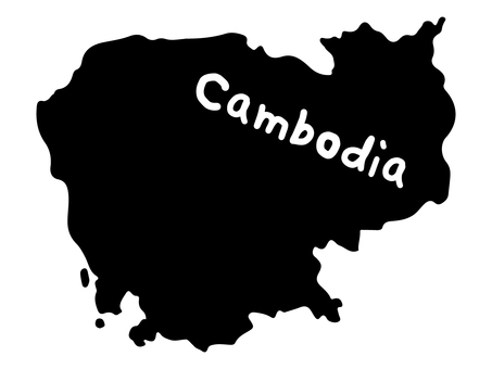 Cambodia silhouette