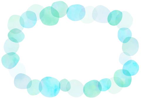 Frame of polka dot
