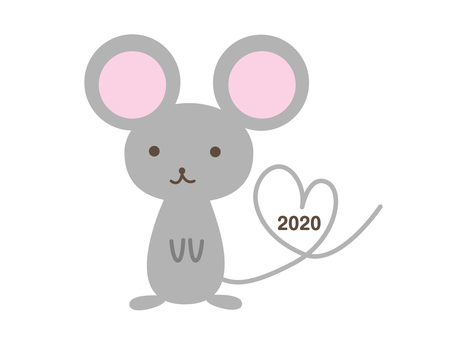 Heart mouse