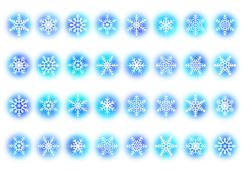 【Ai, png, jpeg】 Winter Material 22
