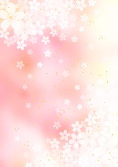 Sakura_Pink_Vertical Background 2295