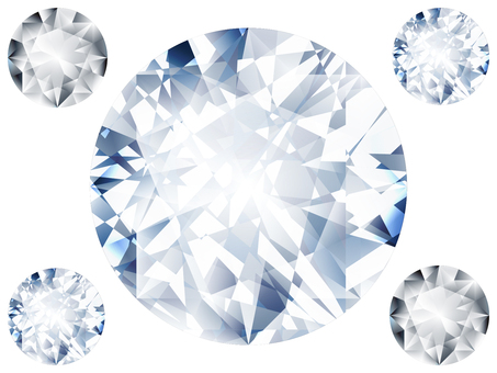Diamond B (blue series)