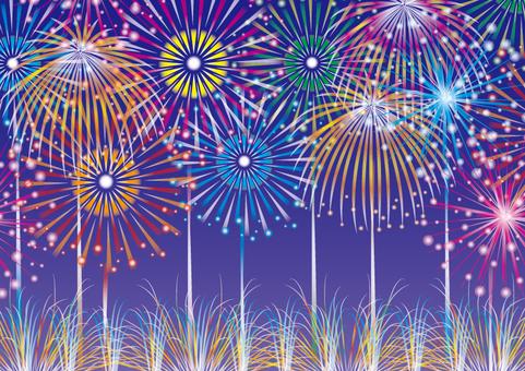 Fireworks Frame 02