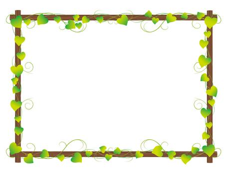 포토스 잎 프레임 2