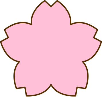 Sakura mark type icon