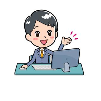Computer, suits, suit