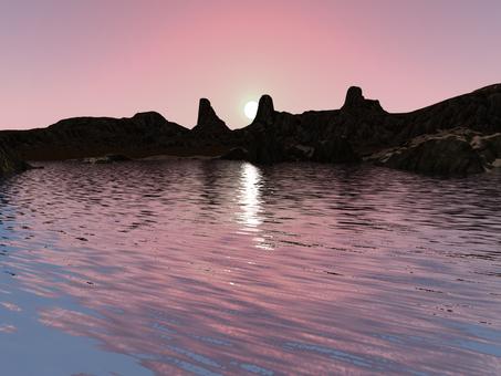 Dawn lake